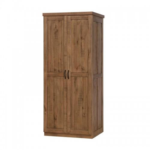 原生态实木双门衣柜P-W842