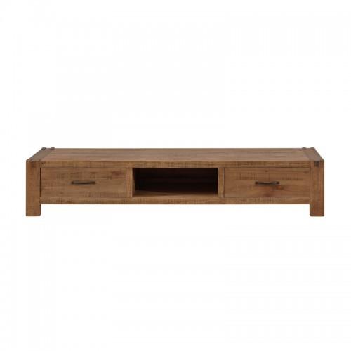 田园风格多功能实木电视柜P-T821