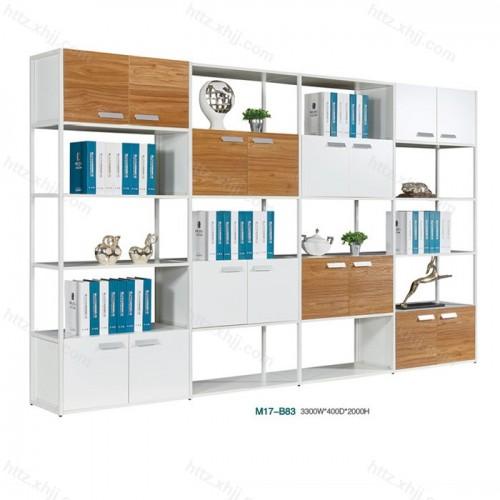 木质文件柜 高档办公柜 老板办公室落地书柜M17-B83
