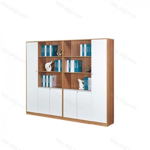 办公文件柜 板式资料档案柜木质书柜M17-B33