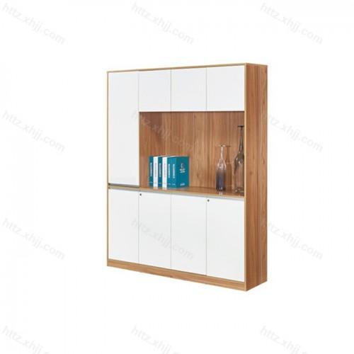办公室落地书柜 板式资料柜子M17-B43D