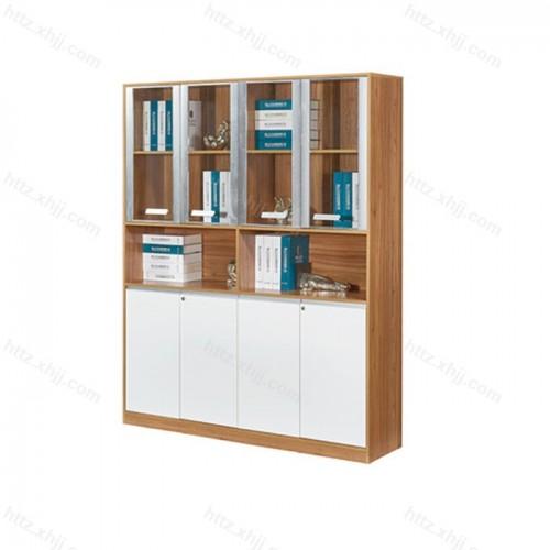 板式文件柜 办公室木质落地书柜M17-B43C