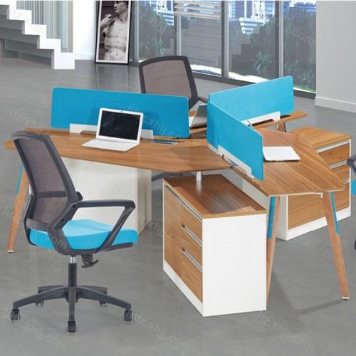 办公职员屏风工作位 板式职员电脑桌M17-F03E