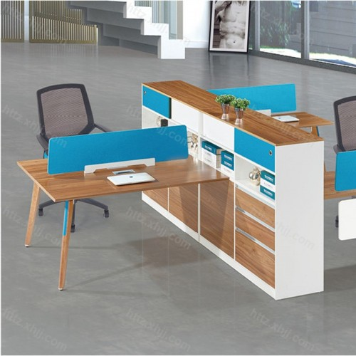 板式屏风员工桌 简约现代职员卡座M17-F04D