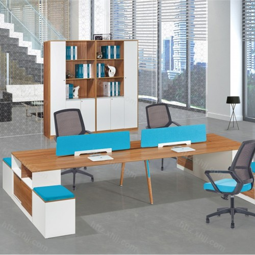 办公屏风桌 板式职员桌M17-F04C