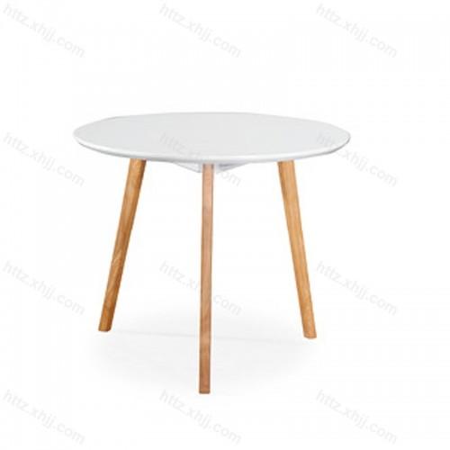 简约洽谈会议桌 休闲接待小圆桌M17-CF85A