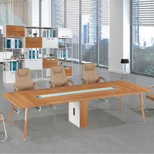 简约办公会议桌 现代板式大型洽谈桌M17-CF28E
