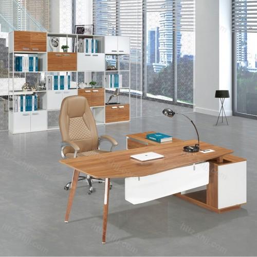 板式办公台 简约现代老板桌M17-E20B