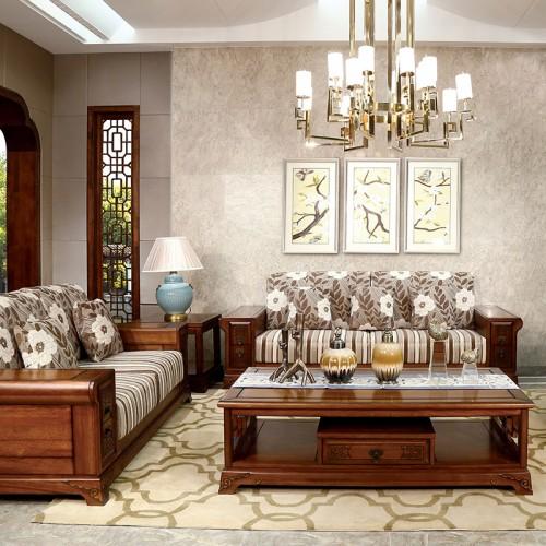 新中式   实木布艺沙发1+2+3-IMGL6816