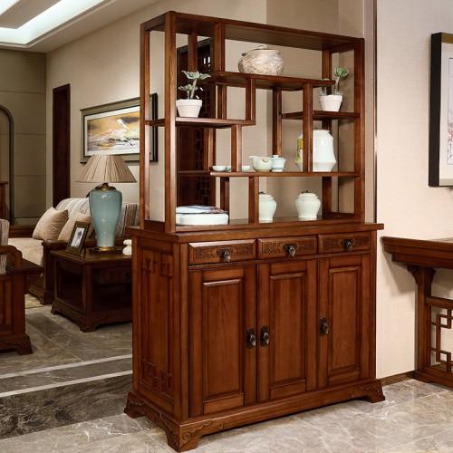 现代简约    中式纯实木  间厅柜-IMGL6969