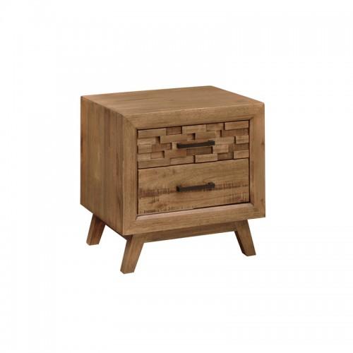 实木床头柜 床边储物柜P-C812