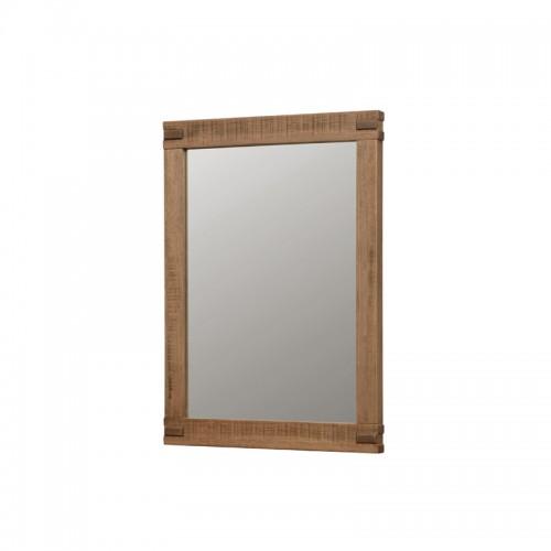 田园风实木边框梳妆镜P-P801