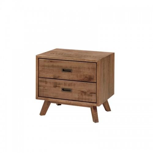 板式实木床头柜 卧室储物柜P-C805-(A-B)
