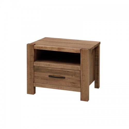 北欧实木床头柜 简约床边柜P-C804