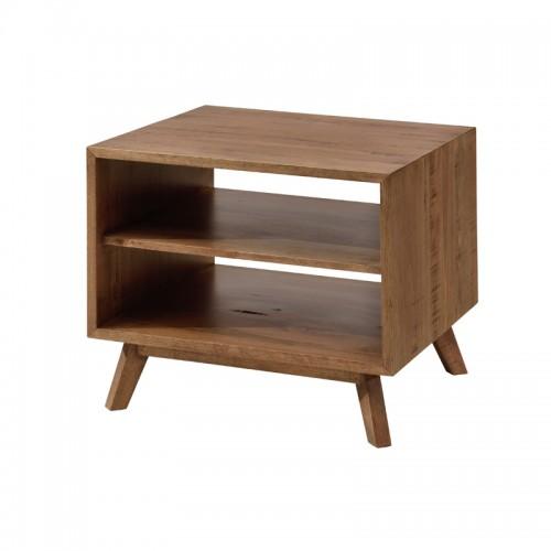 实木沙发边方几储物柜P-B808