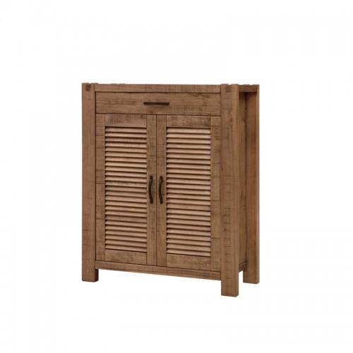 北欧原生态实木储物柜P-G801