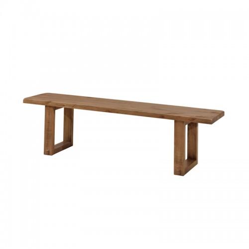 北欧实木床头尾凳P-AY802