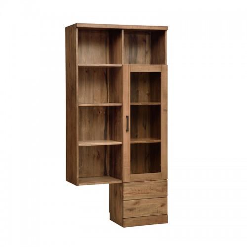 北欧原生态实木多工能书柜P-D803C