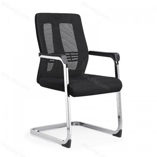 电脑椅弓形家用椅网布简约职员椅W016