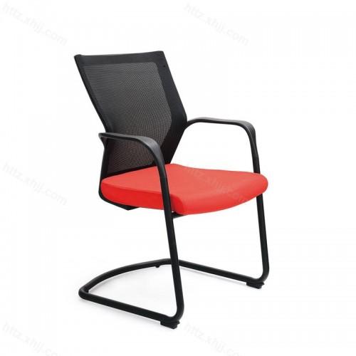 现代简约弓字脚办公椅员工椅W040