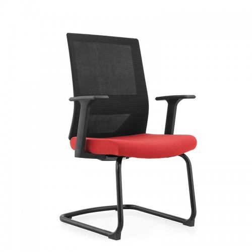办公椅弓形职员椅学生网椅网布转椅W045