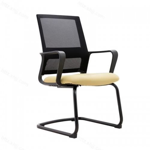 弓形职员椅学生网椅网布转椅W046