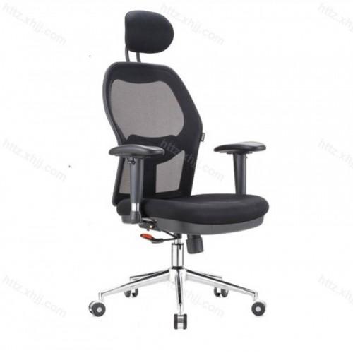 个性老板主管椅网布升降转椅Z041