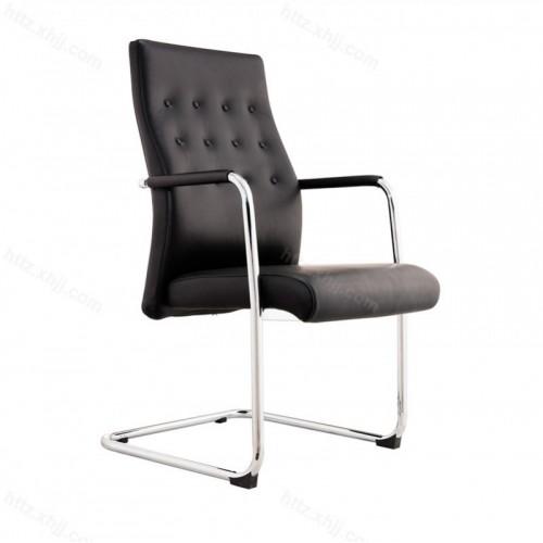 办公洽谈会议椅弓形钢架皮艺电脑椅G020