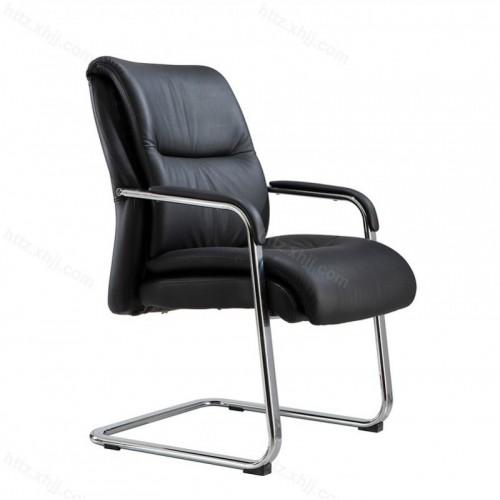皮艺会议办公椅会客接待洽谈椅G022