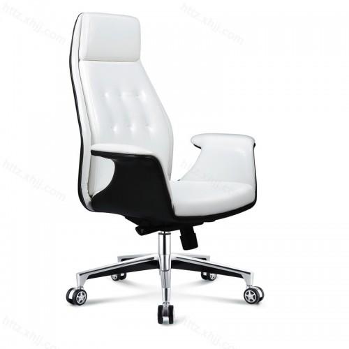 新款老板桌单人办公桌椅P019