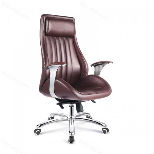 经理椅子转椅靠背椅皮椅P022
