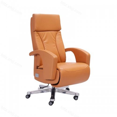 真皮大班椅牛皮老板椅办公室经理椅P024