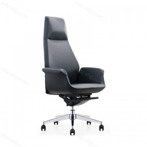 真皮人体工学可升降时尚休闲椅P026