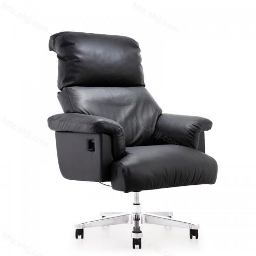 真皮时尚升降转椅老板椅办公椅P032