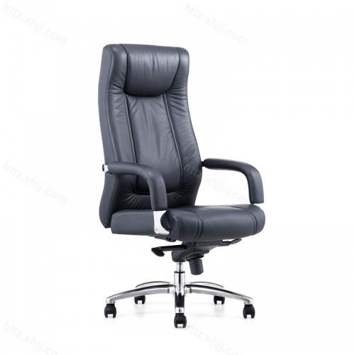 真皮旋转可躺电脑椅P036