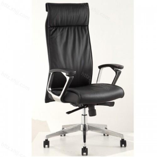 老板椅可躺办公椅子职员椅真皮P047