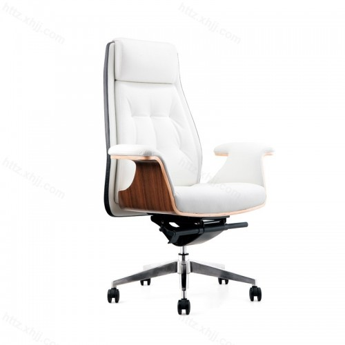 升降转椅皮椅子办公椅P052