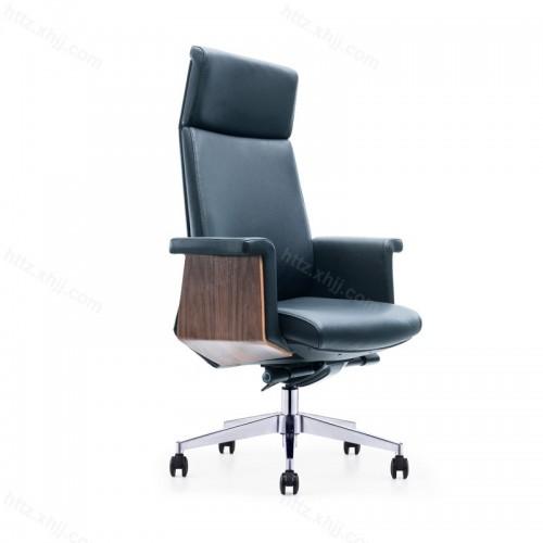 现代会议椅时尚家用大班真皮椅P057