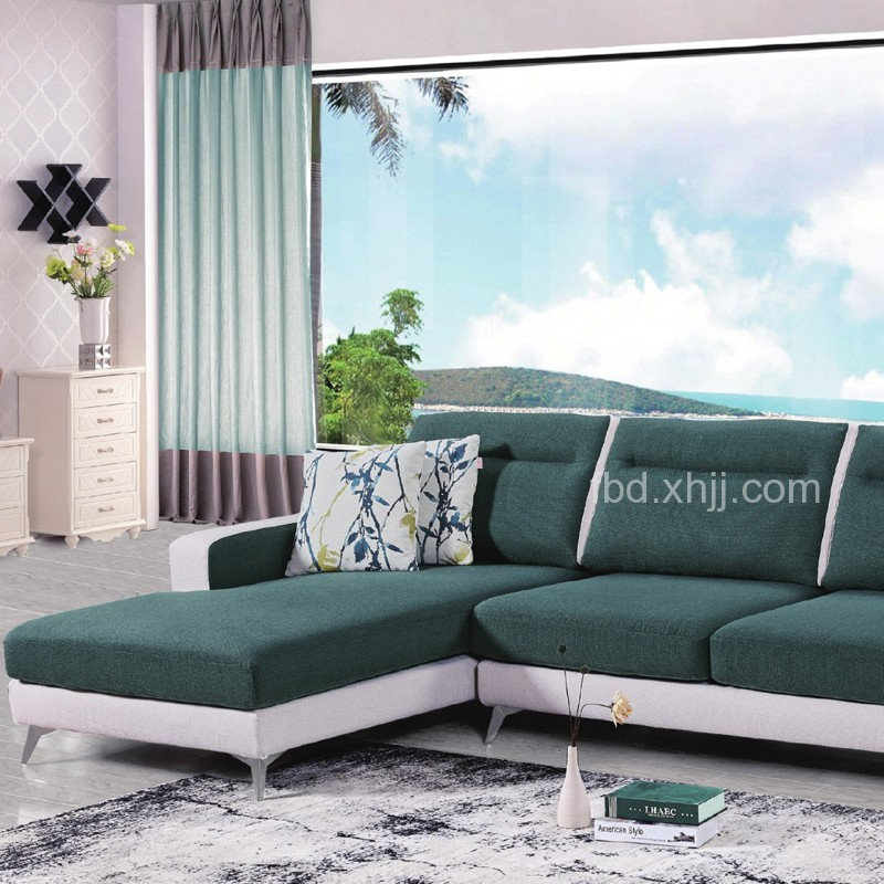 北欧风格小户型布艺沙发1803