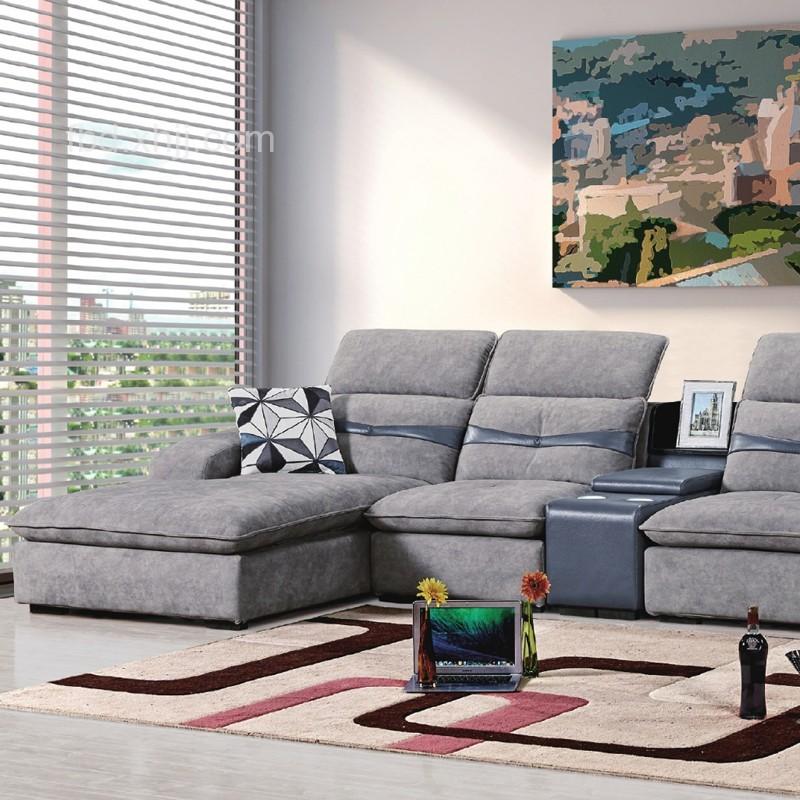 现代简约小户型客厅沙发组合1612B
