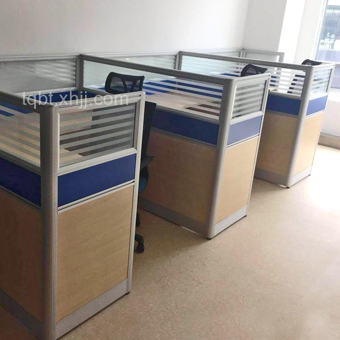 职员办公桌屏风桌员工桌卡位工作桌06