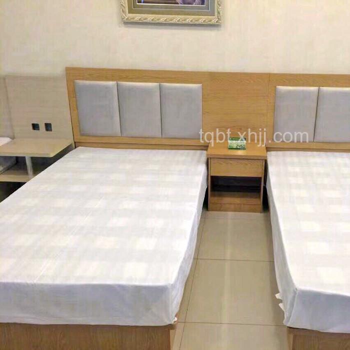 定制客房出租屋床板式家具床01