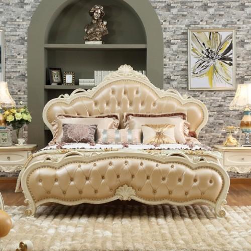 欧式双人床 奢华婚床