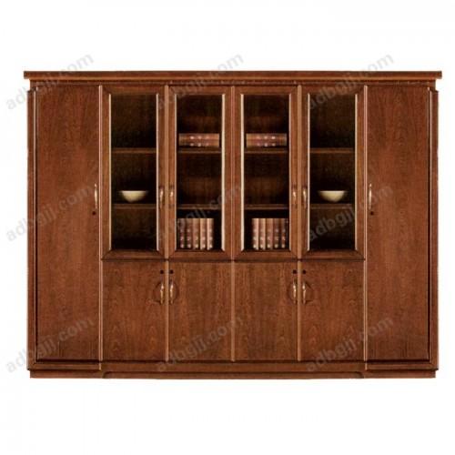 实木油漆书柜-02