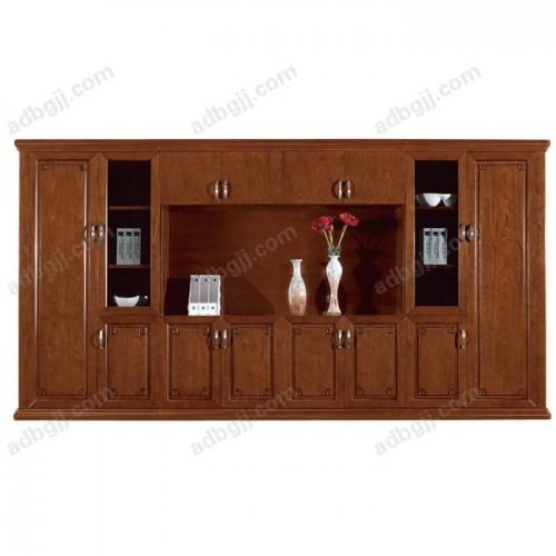 实木油漆书柜-01
