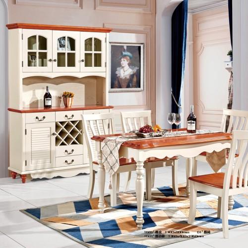 地中海风格简约餐厅组合11