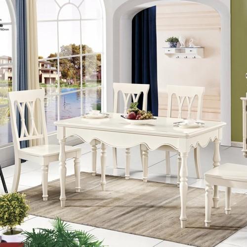 北欧现代实木简约餐桌椅701