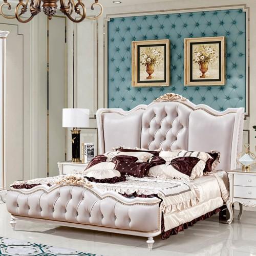 欧式简约床衣柜套房T308两色