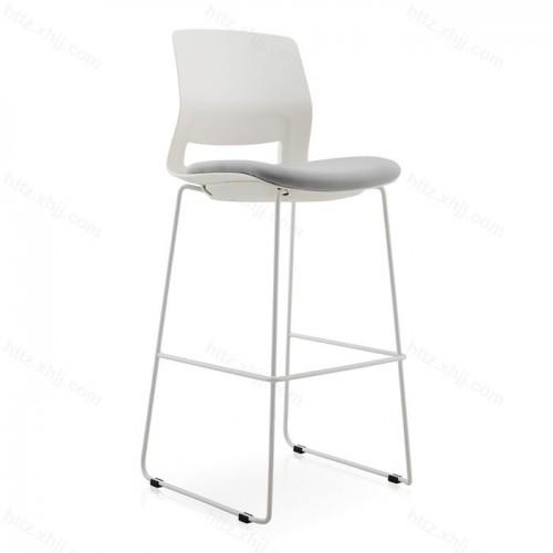 北欧休闲酒吧椅简约创意铁艺高脚凳02