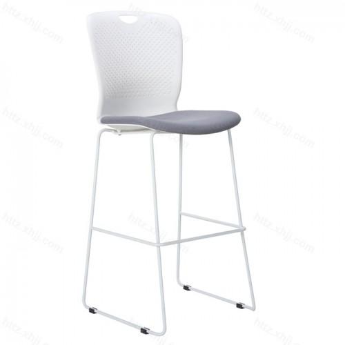 北欧休闲酒吧椅简约创意铁艺高脚凳01